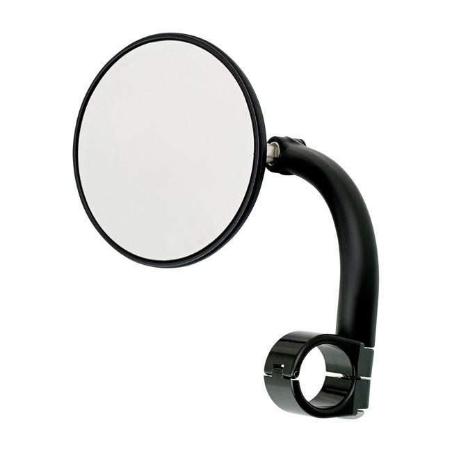 Biltwell Lenkerspiegel schwarz für 25 mm