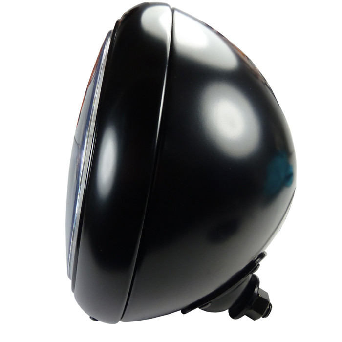 7 Zoll Scheinwerfer schwarz im HD Style