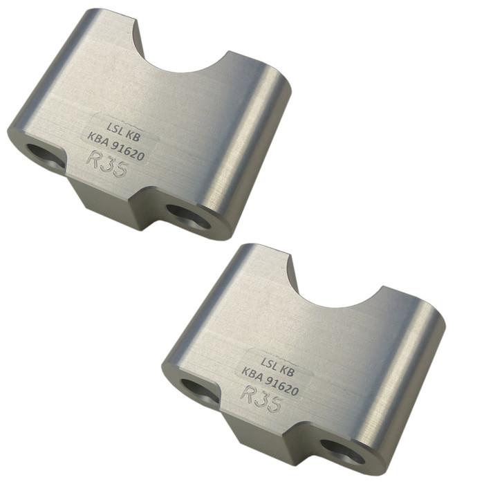 Distanzsatz für 22 mm Lenker Erhöhung 35 mm