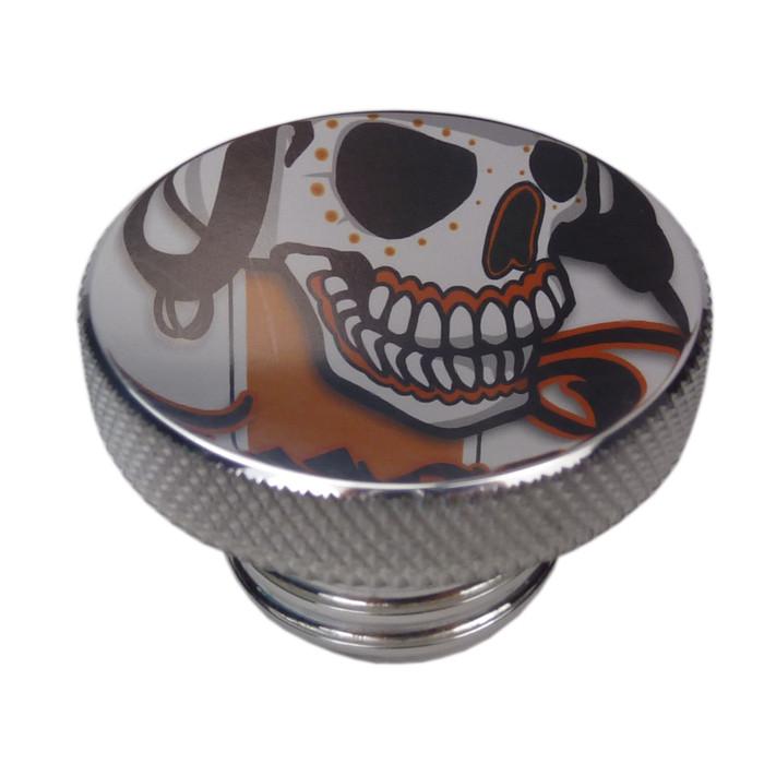 Tankdeckel Aluminium poliert