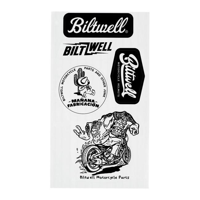 Biltwell Sticker Set A