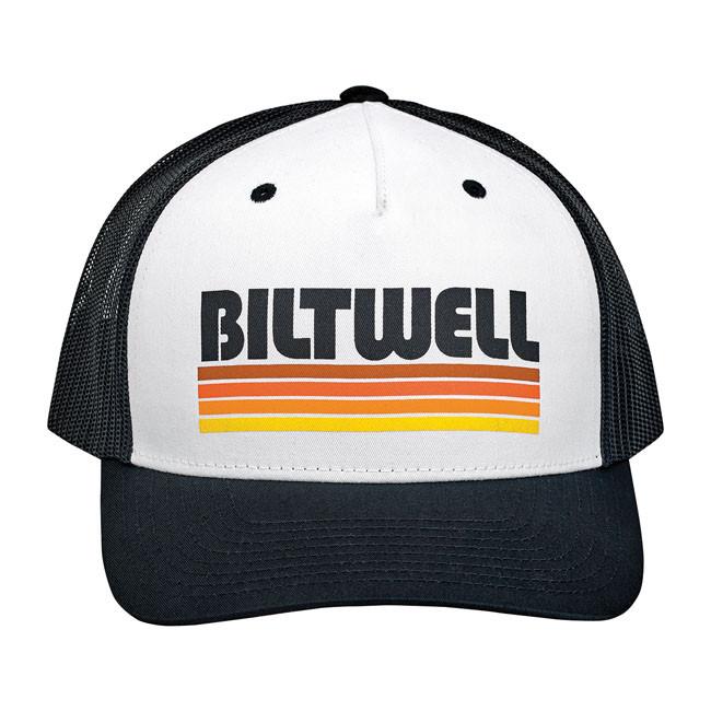 Unisize Biltwell Retro Style Cap schwarz/weiß