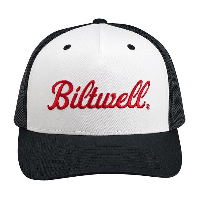 Unisize Biltwell Vintage Style Cap schwarz/weiß