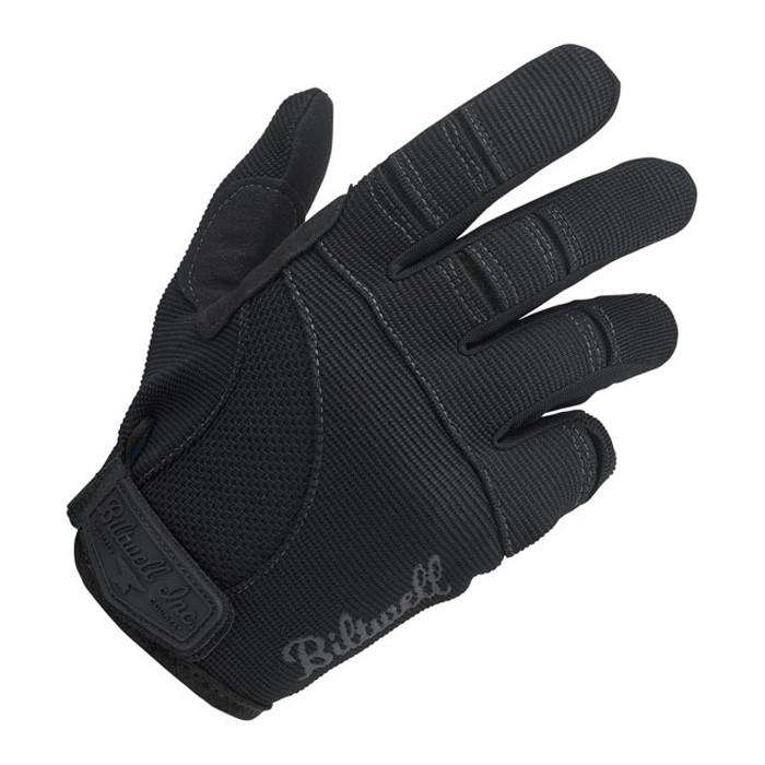 Biltwell Motorrad Handschuhe schwarz