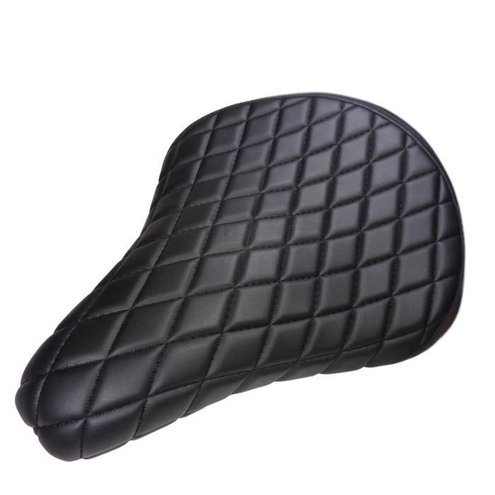 Biltwell flacher Solositz mit Diamond Muster