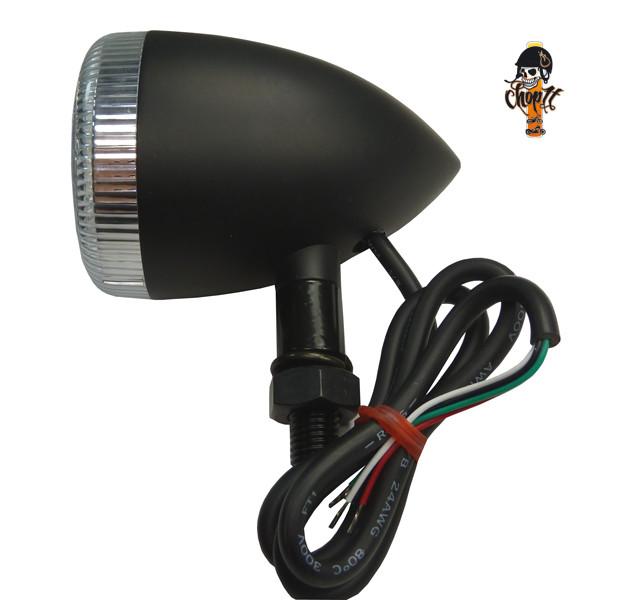 LED Rücklicht - Blinker Kombination schwarz