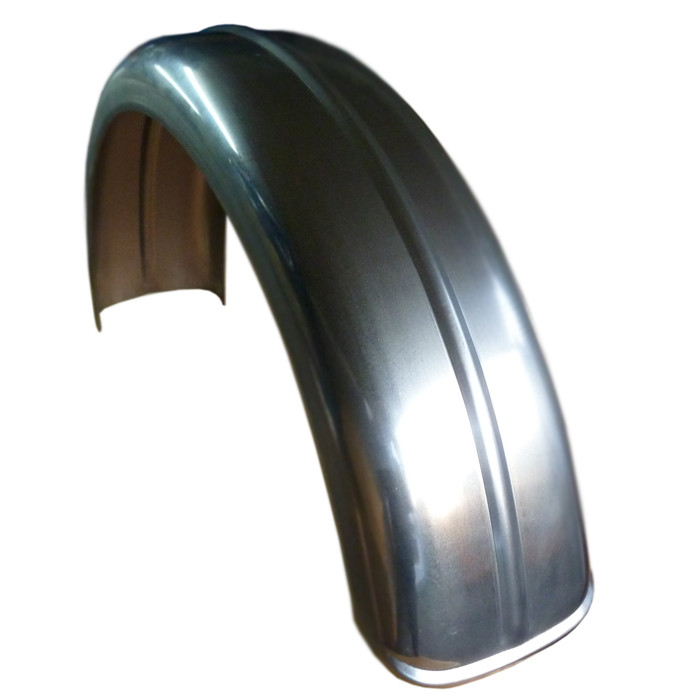 155 MM x 690 MM ribbed Stahl Fender D Profil