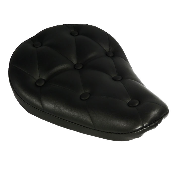 Schwarzer Solositz mit Nieten