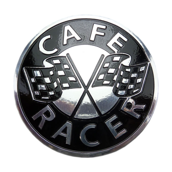 Emblem Cafe Racer - Race Flag