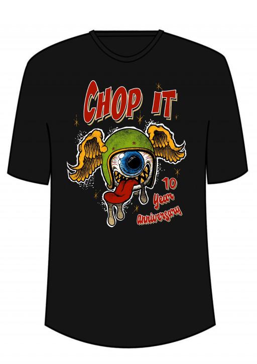 T-Shirt Chop it 10 year anniversary
