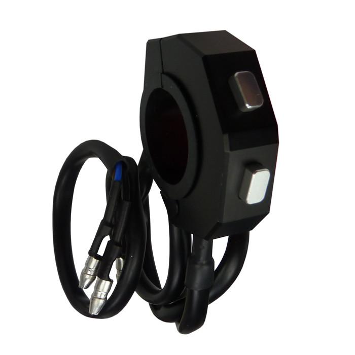 Daytona Universal Schalter schwarz mit zwei Taster