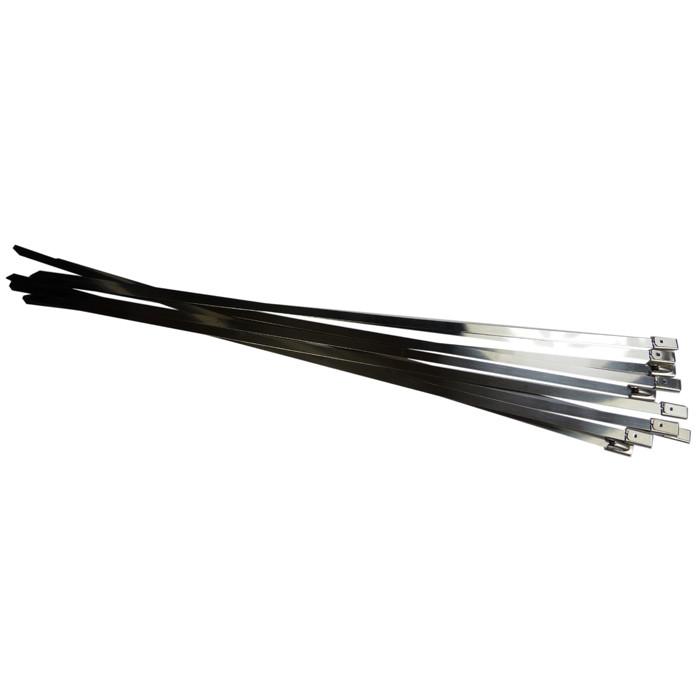 10 Stück Edelstahl Kabelbinder