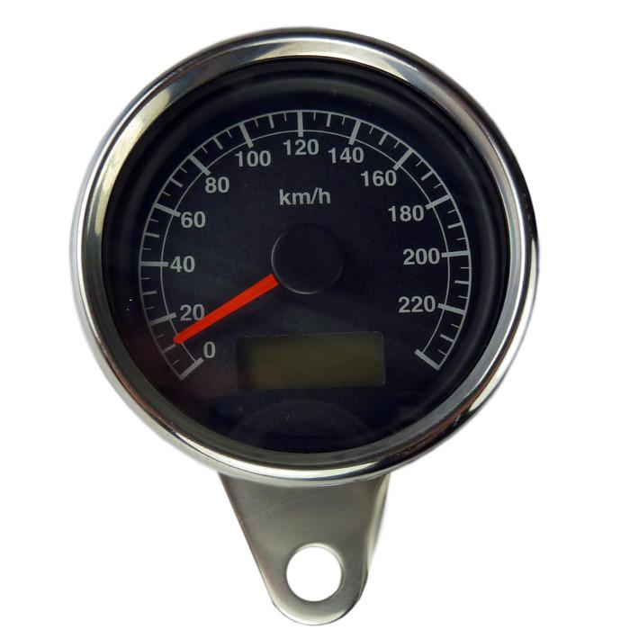Mini Tachometer schwarzes ZFB