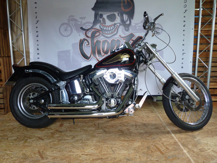 FP Auspuffanlage Independence Shorty für Softail 84-17