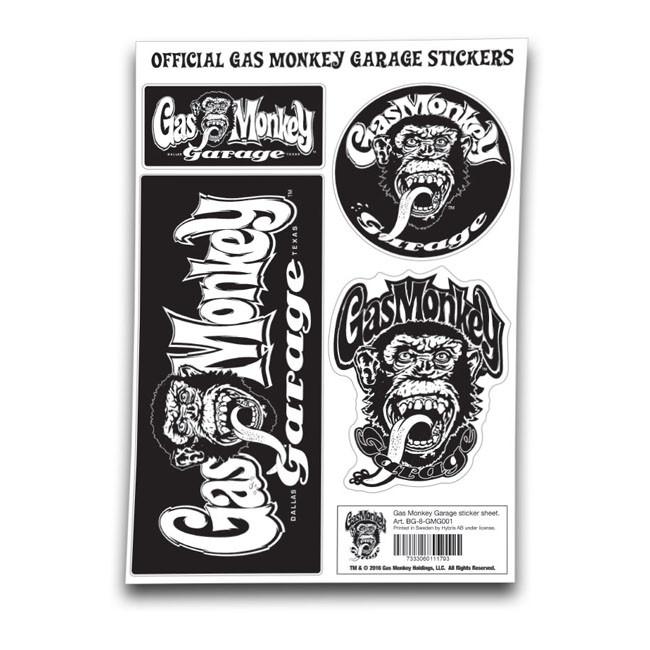 Gas Monkey Garage Sticker Set