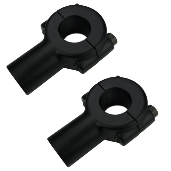 Schwarze Riser Half Bone für 22 mm