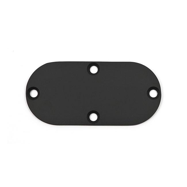 Inspektionscover schwarz glatt für HD Modelle