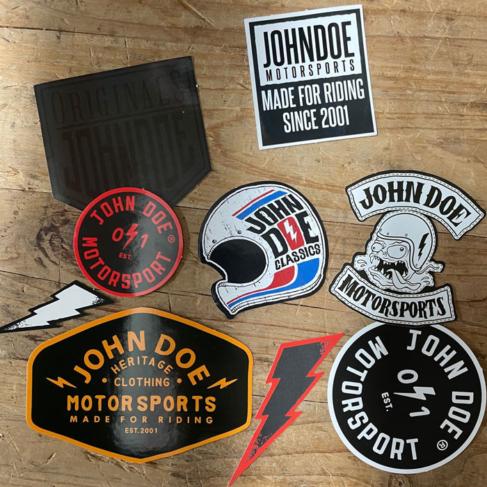 John Doe Sticker Set