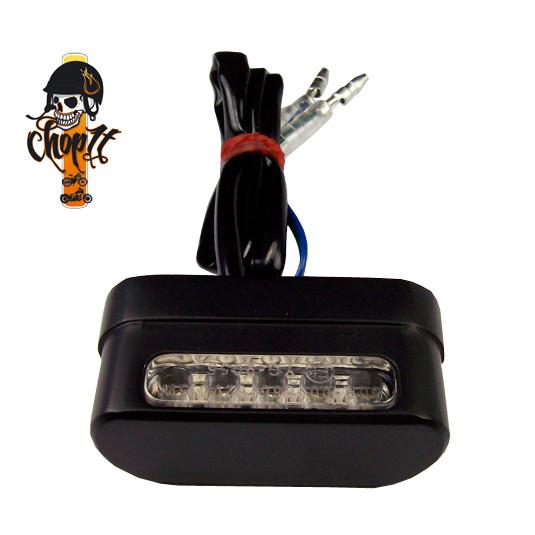 Kennzeichenleuchte - LED - schwarz