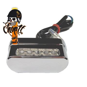 Kennzeichenleuchte - LED - chrom