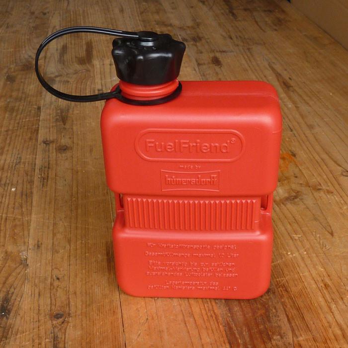 Stabiler Benzin Kanister rot 1 L