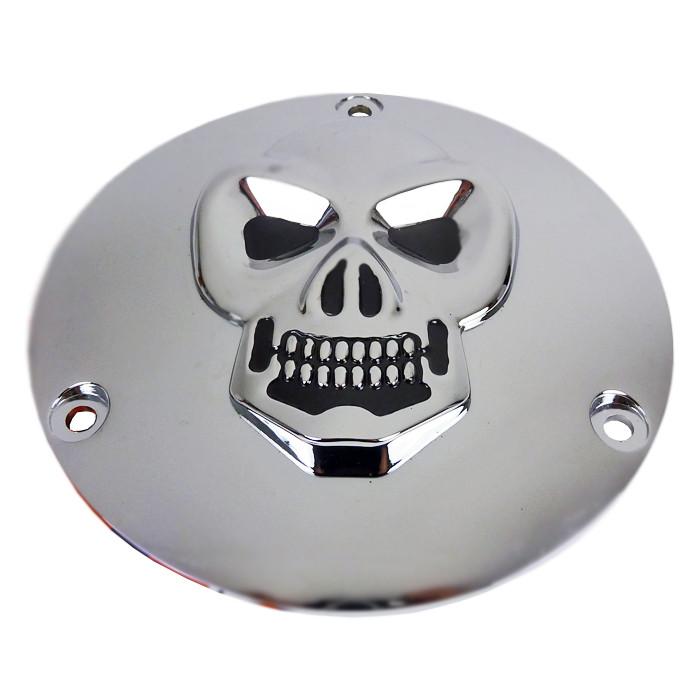 Kupplungsdeckel Skull für Harley Davidson Big Twin