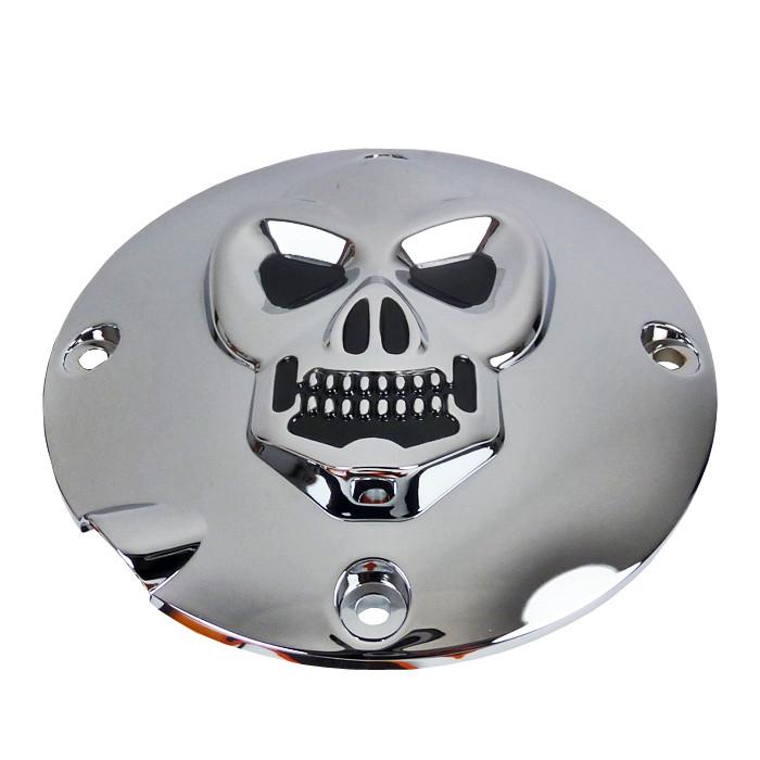 Kupplungsdeckel Skull für Harley Davidson Sportster