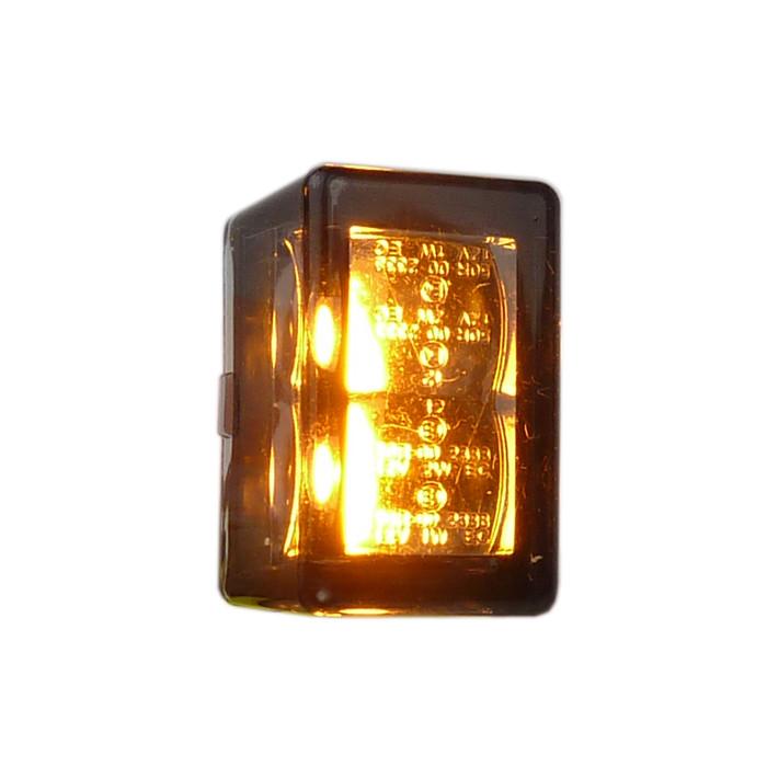 Zwei Micro LED Blinker Cube-V mit E Prüfung