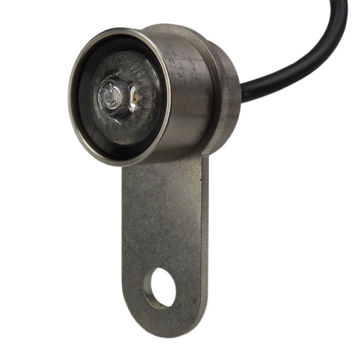 Mini Highsider LED Rücklicht rund + Halterung Firefly