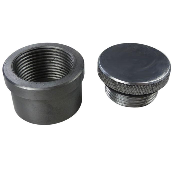Aluminium Mini Tankdeckel und Stahl Einsatz