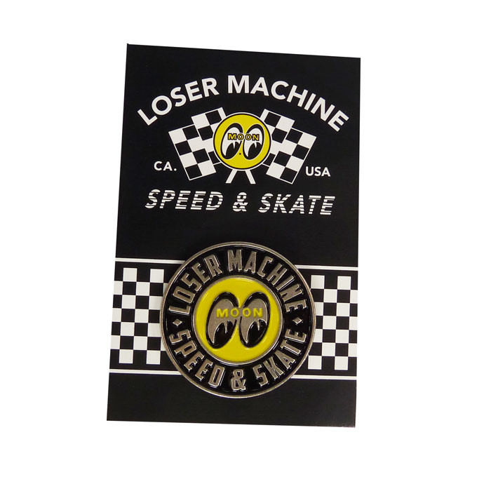 Pin Mooneyes Loser Machine