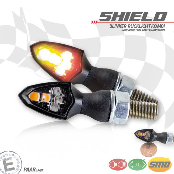 Mini SMD Blinker Rücklicht Kombi Shield