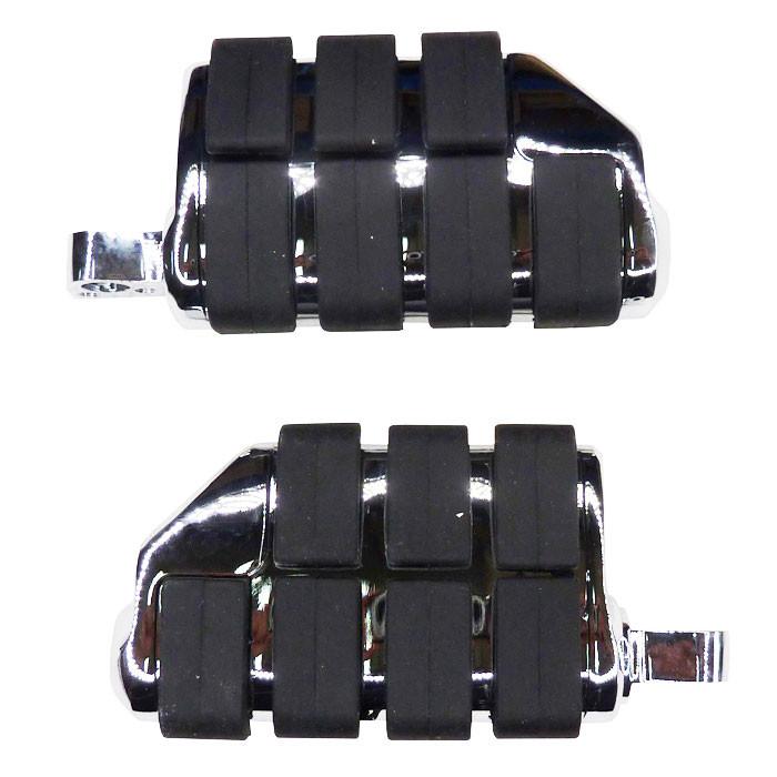 Zwei Fussrasten Komfort für HD mit female mount