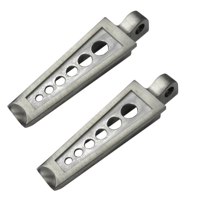 RAW Aluminium Fussrasten Six Holes