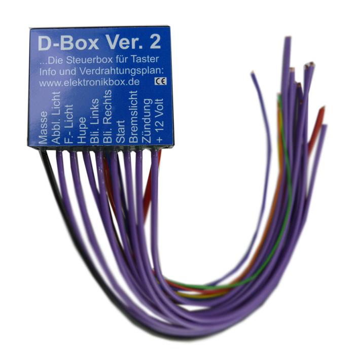 Elektronikbox Version D für Minitaster