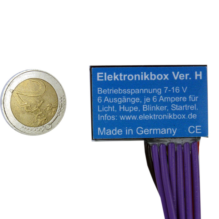 Elektronikbox Version H für Minitaster