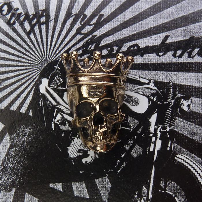 Zierschraube Skull King Bronze