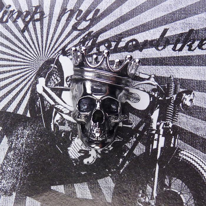 Zierschraube Skull King Edelstahl