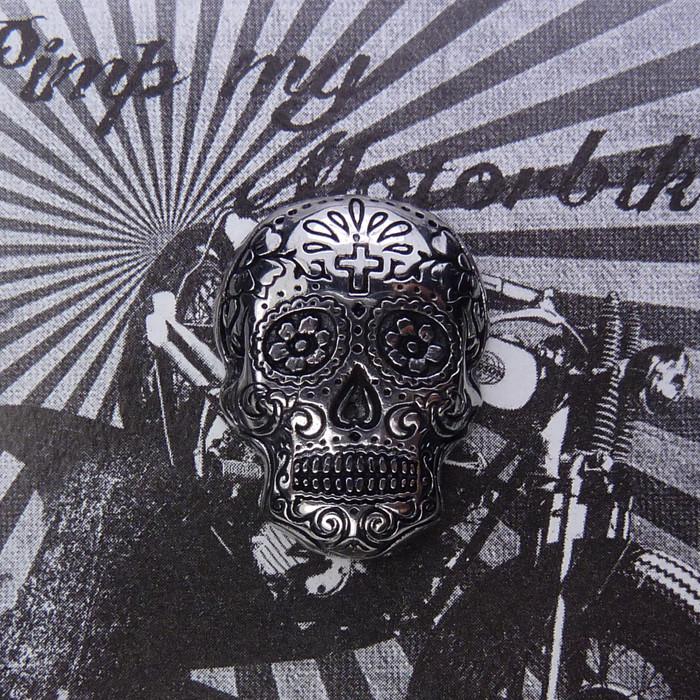 Zierschraube Sugar Skull Edelstahl