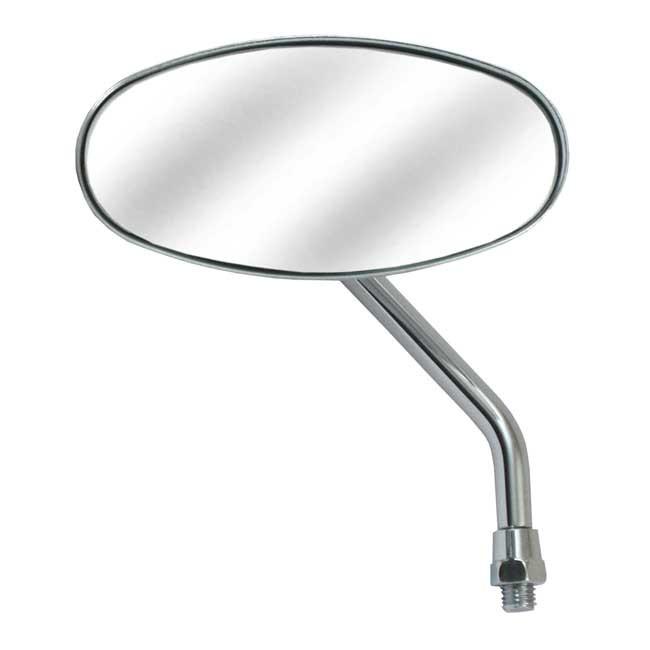 Chrom Spiegel Cateye für die linke Seite