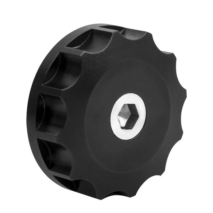 Schwarze Öleinfüllschraube für Triumph Modelle