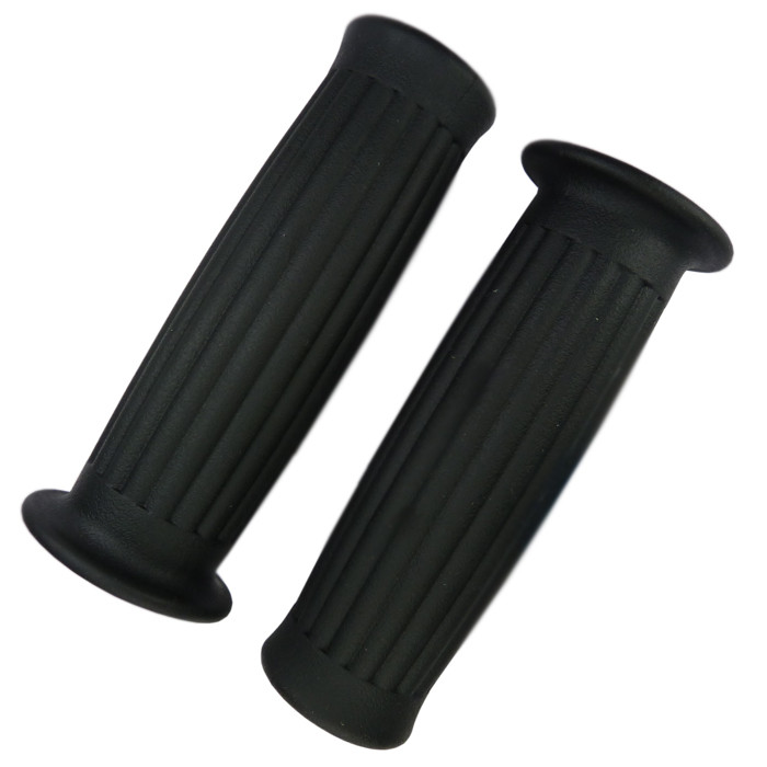 Black Grips Old School Hunter Style for 1 inch handlebar