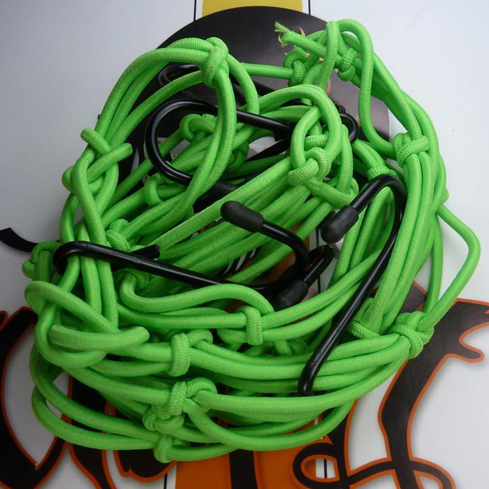 Grünes Gepäcknetz