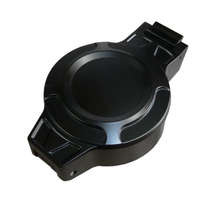 Tankdeckel Monza Style schwarz für HD und Triumph