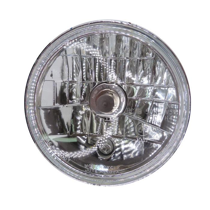 5 1/2 Zoll Scheinwerfereinsatz Klarglas