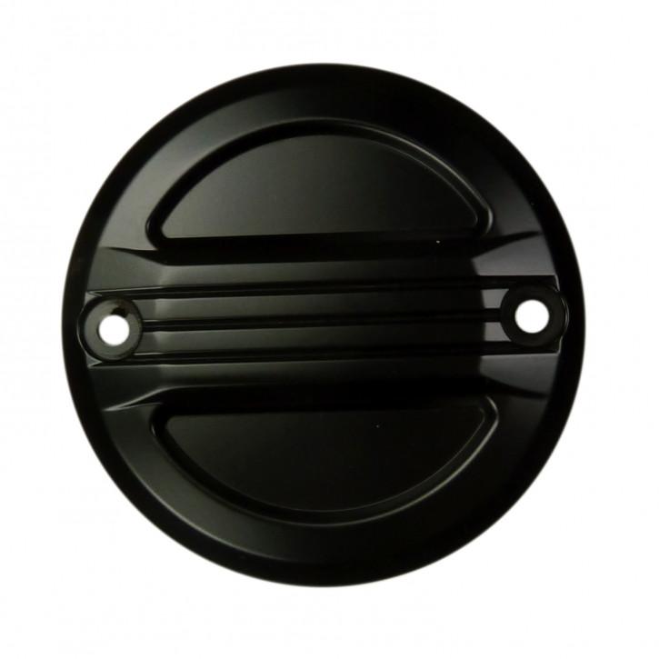 Zündungsdeckel schwarz Airflow für Harley Modelle