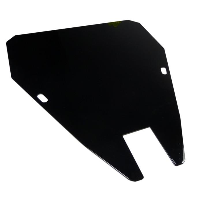 Schwarzes Solositz Abdeckblech für Kawasaki VN800 ohne Steg