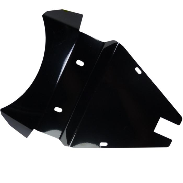 Schwarzes Solositz Abdeckblech für Kawasaki VN800