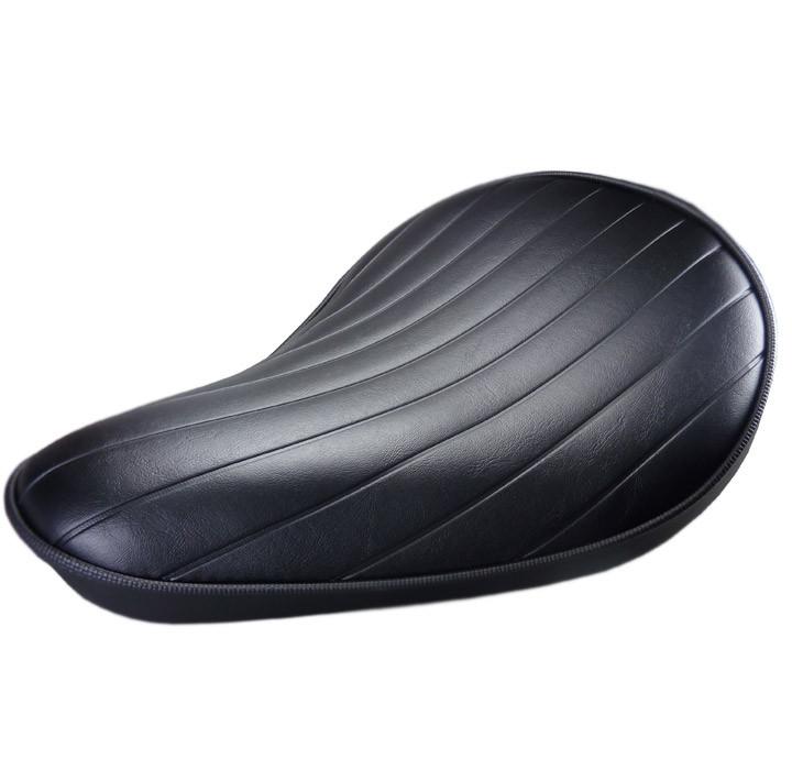 Solositz klein - schwarz - extra flach - Tuck and Roll