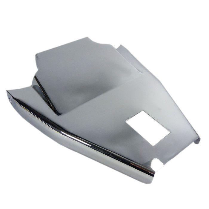 Chrom Solositz Cover für HD Softail